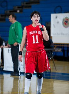 Andee Velasco had a double-double with 10 assists and 13 points for Mater Dei.
