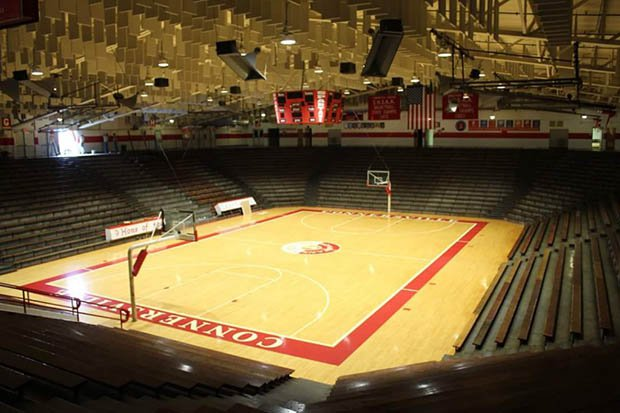 According to VisitIndiana.com readers, the Spartan Bowl is the state's premier high school basketball gym.