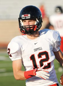 Coppel's Nick Jordan said kickers need to watch out for themselves.