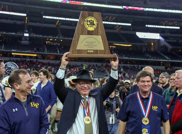 Randy Allen of Highland Park is No. 20 on the all-time active winningest coach list.