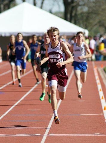 Ben Kelley of Soroco is the reigning 2A Athlete of the Year after winning the three distance events last season.