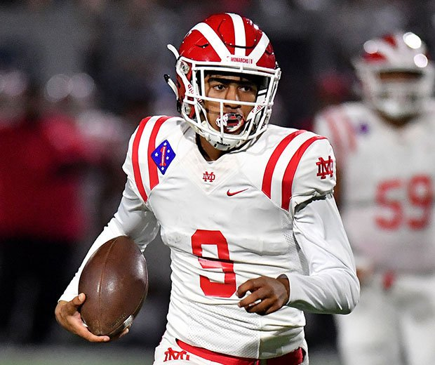 Alabama-bound quarterback Bryce Young did it all again once more for Mater Dei.