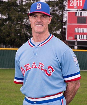 Head coach Tom Donald