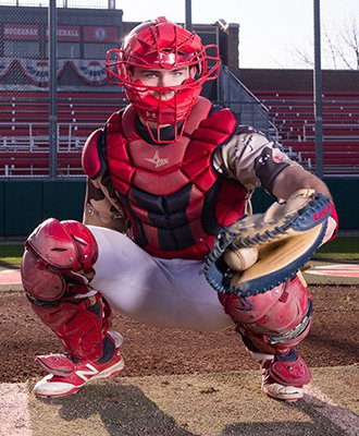 Catcher Zach Presno
