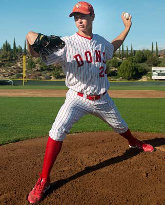 Pitcher Stephen Gonsalves