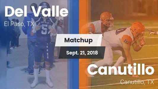 Football Game Recap: Del Valle vs. Canutillo