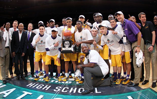 """After beating Oak Hill Academy in the final at Dick's Nationals last week, Montverde Academy finished on top in four of six """"human"""" polls."""