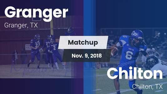 Football Game Recap: Granger vs. Chilton