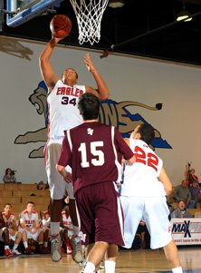 Arik Armstead averages about 10 points and 10 rebounds per game.