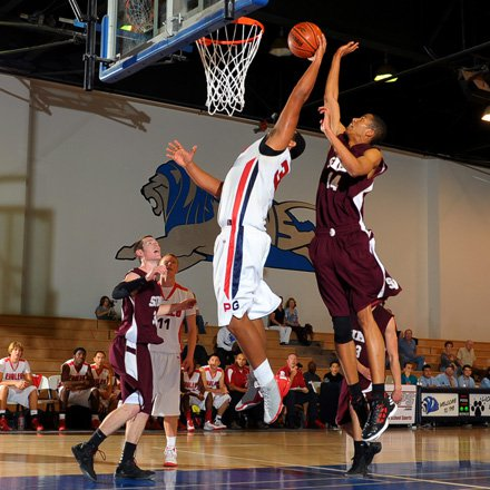 Despite his enormous 6-foot-8, 285-pound frame, there's not much Arik Armstead can't do on the basketball court.
