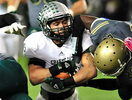 John Cooley scored the game-winning touchdown for Granite Bay.