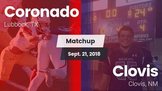 Football Game Recap: Coronado vs. Clovis