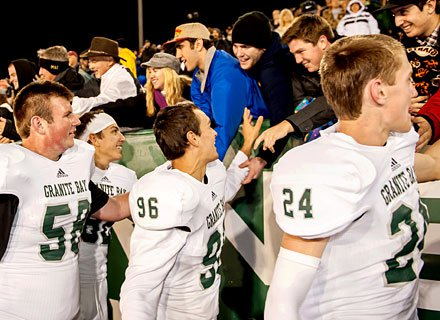 Granite Bay hopes to celebrate news with its fans that it received a Regional Bowl game bid.