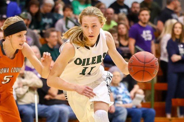Iowa State signee Emily Ryan averaged 29 points per game her senior season at Great Plains.