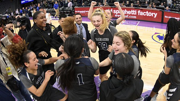 Sierra Canyon celebrated its fourth state championship, but first in the Open Division.