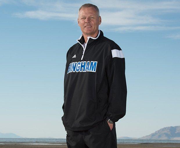 Head coach John Lambourne