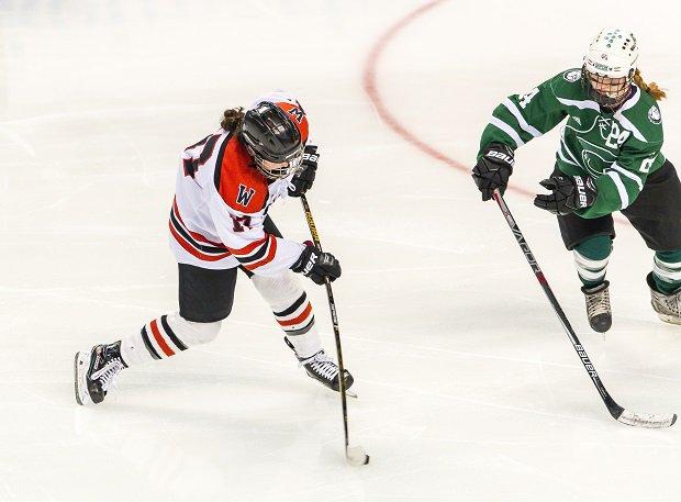 Wellesley girls ice hockey