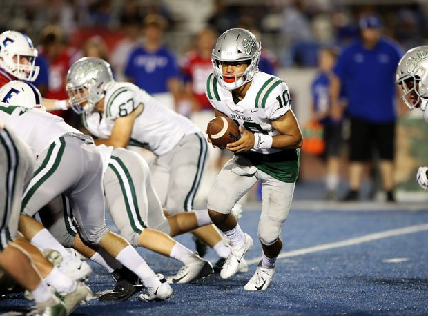 Dorian Hale rushed for 90 yards and four touchdowns leading De La Salle to a 42-27 win at Folsom.