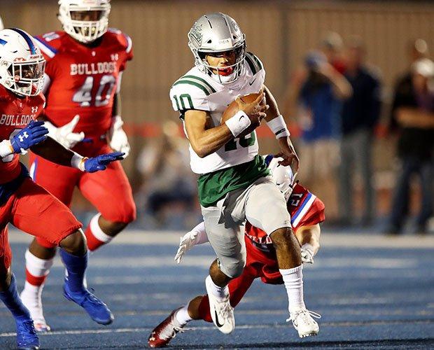 Dorian Hale scored four touchdowns leading De la Salle to 42-27 win at Folsom.