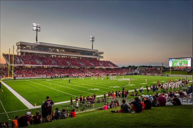 The 12,000-seat Legacy Stadium houses Katy's football programs and opened in 2017.