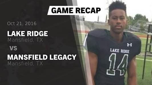 Football Game Preview: Lake Ridge vs. Highland Park