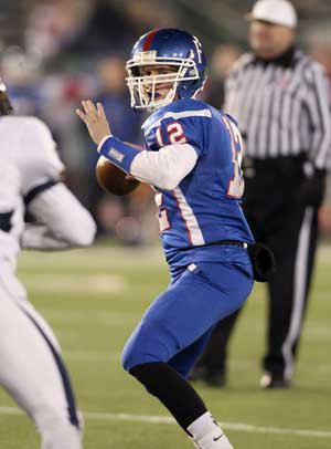 Jake Browning has thrown for a state-record 72 touchdowns in 2013.