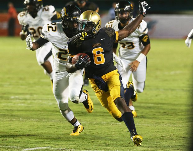 St. Thomas Aquinas' big win over American Heritage keeps the Raiders in the No. 3 spot.