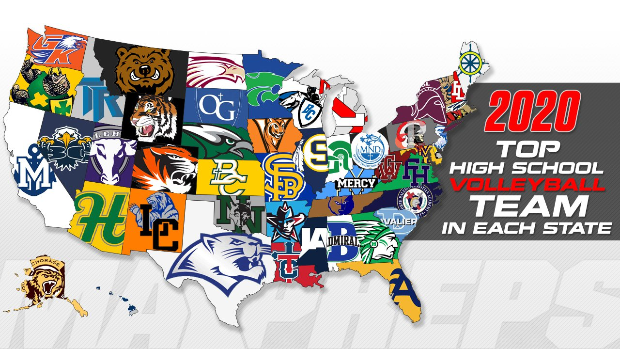 Best High School Volleyball Team In All 50 States Maxpreps
