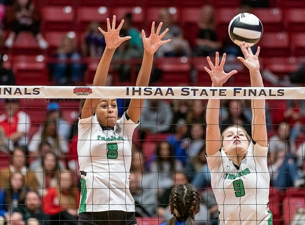 Laila Smith and Mabrey Shaffmaster lead New Castle in a quest for a fourth straight Indiana title.
