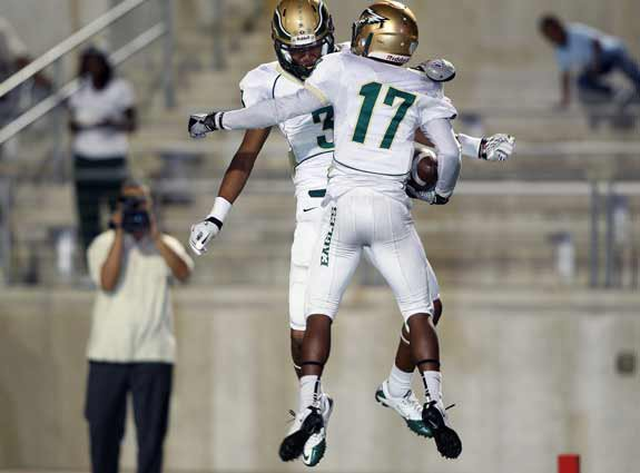 DeSoto players will have plenty more to celebrate if they win tonight and take the district title outright.