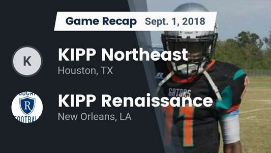 Football Game Recap: KIPP Sunnyside vs. KIPP Northeast