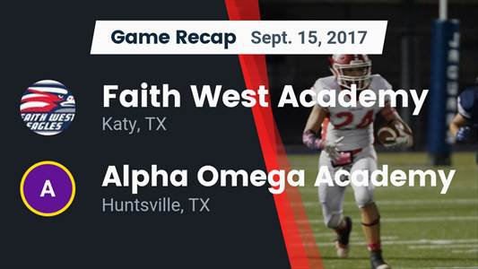 Football Game Preview: Veritas Academy vs. Faith West Academy