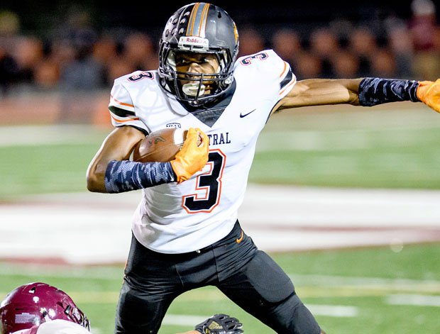 Central wide receiver Jeremiah Hunter is a Cal commit.