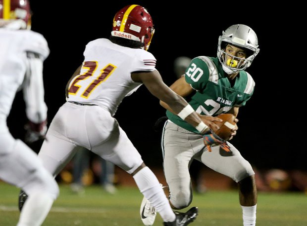 De La Salle quarterback Dorian Hale is a terrific dual threat.