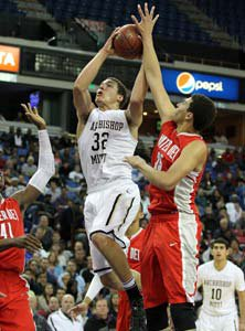 Aaron Gordon put up big numbers in aloss for Mitty.