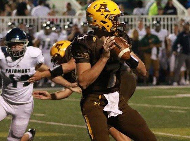 Alter quarterback Connor Bazelak holds 25 offers including Georgia, Iowa, Boston College, Pitt, Purdue, Maryland, North Carolina and NC State.