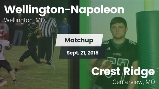 Football Game Recap: Wellington-Napoleon vs. Crest Ridge