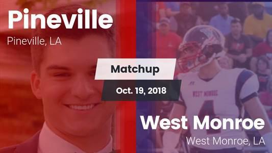 Football Game Recap: West Monroe vs. Pineville