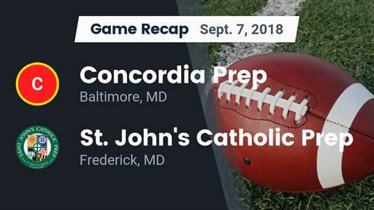 Football Game Recap: St. John's Catholic Prep vs. Hancock