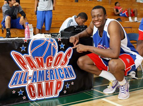 Cliff Alexander joined a prestigious list of past MVPs at the Pangos All-American Camp in 2012.