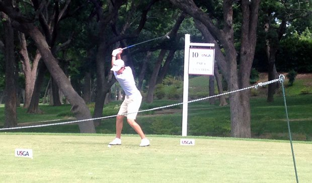 Incoming sophomore Cole Hammer will tee off at the 115th U.S. Open today in University Place, Wash.
