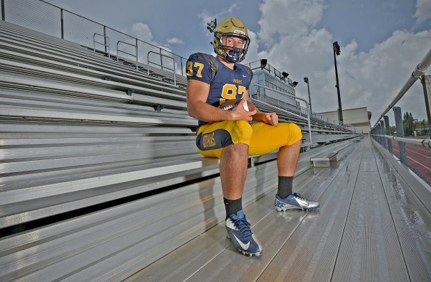 Nick Bosa helped St. Thomas Aquinas go 15-0 and win Florida's Class 7A state title as a senior in 2015.