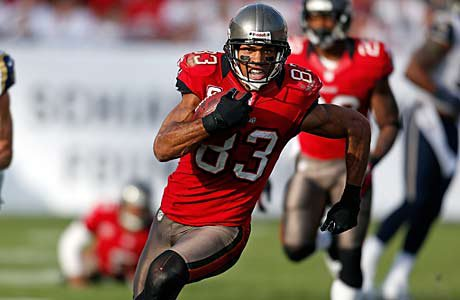 Vincent Jackson of the Tampa Bay Buccaneers went to Widefield High (Colorado Springs).