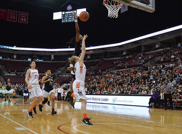 Columbus Africentric won its sixth state title with a 53-47 win over Versailles in D-III.