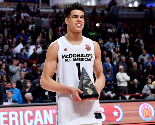 Michael Porter Jr. of Nathan Hale was named the game's MVP.