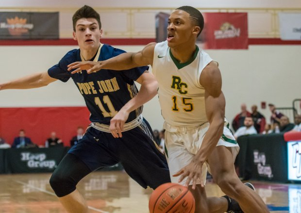 Nate Pierre-Louis scored 15 points to lead No. 13 Roselle Catholic to a 71-58 win in its season opener over Pope John XXIII.