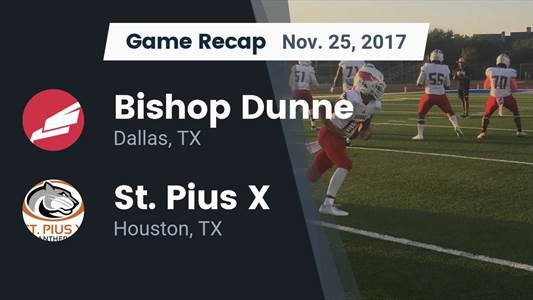 Football Game Recap: St. Pius X vs. Bishop Lynch