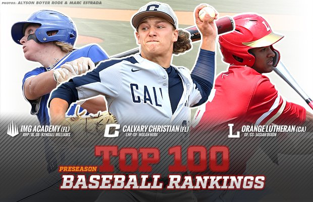 MaxPreps 2019 preseason top 100 national high school baseball ... 6da57f8907ce