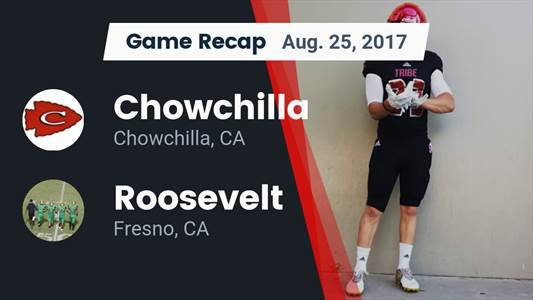 Football Game Preview Chowchilla Vs Liberty