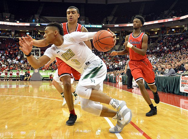 Akron SVSM's Jayvon Graves had 47 points in two D-II state tournament games.